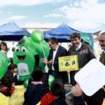 """Ministro Mena: """"El medio ambiente necesita un cambio cultural profundo y ciudadanos ambientalmente educados para reciclar"""""""