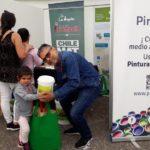 Feria Campaña residuos Pinturec en Los Ángeles