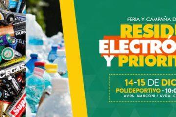 Feria Campaña residuos electronicos y prioritarios 2018