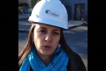 ODR Colbún usan pintura reciclada Pinturec