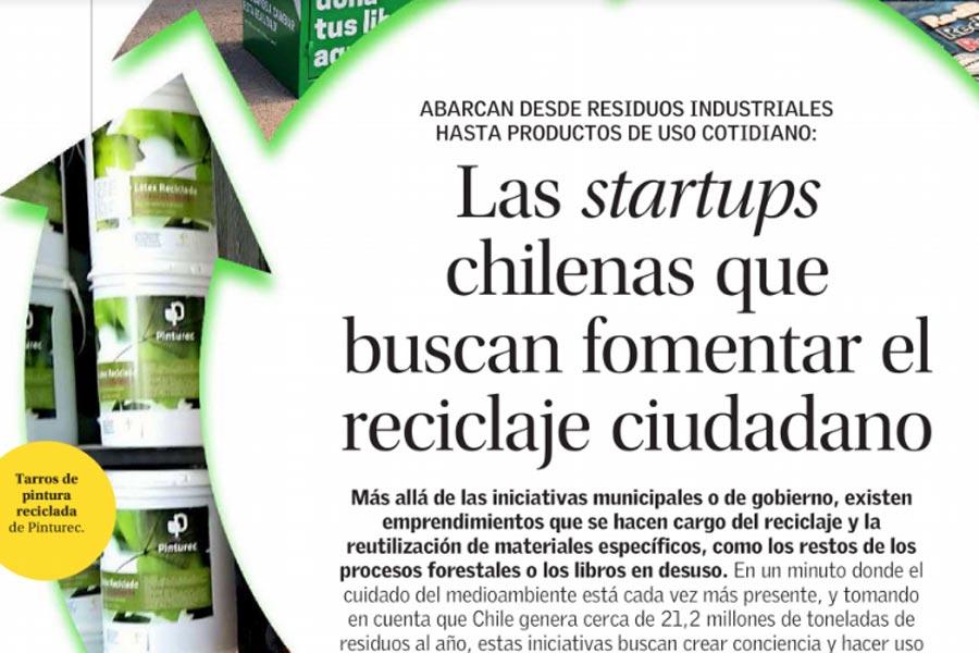 startups Pinturec reciclaje ciudadano