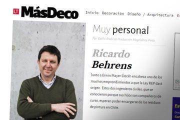 MasDeco entrevista Richard Behrens Pinturec