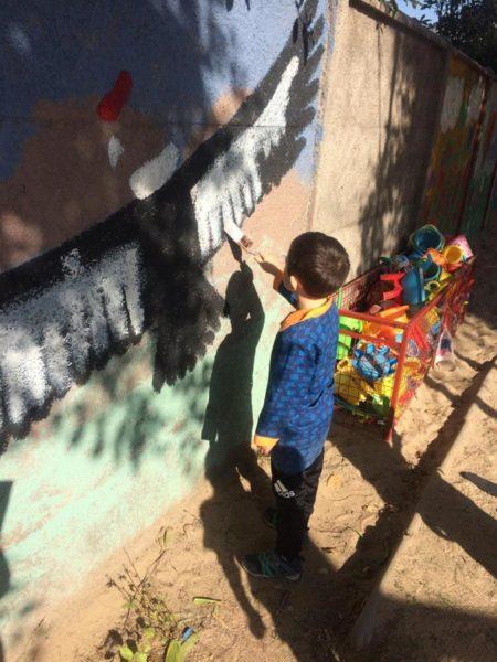 Colegio Alemán de Santiago usan pintura reciclada Pinturec