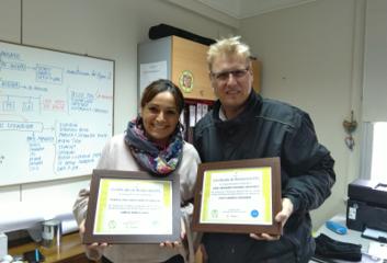 Pinturec certificado ambiente Universidad Católica Valparaiso
